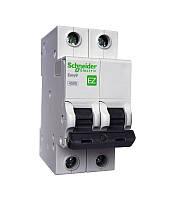 Автоматический выключатель Schneider Electric EASY 9 2П 10А С 4,5кА 230В