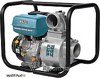 Мотопомпа бензиновая для чистой воды Konner & Sohnen KS 100 (1350 л/мин) (нал/безнал)