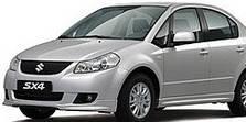 Защита двигателя на Suzuki SX-4 (2006-2013)