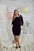 Платье женское больших размеров 770446, размер 42, 44, 46, 48, 50, 52, 54, 56, 58, 60.