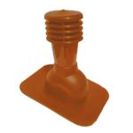Вентиляционный выход Kronoplast KPG для битумной черепицы неутепленный Ø125 мм, фото 1