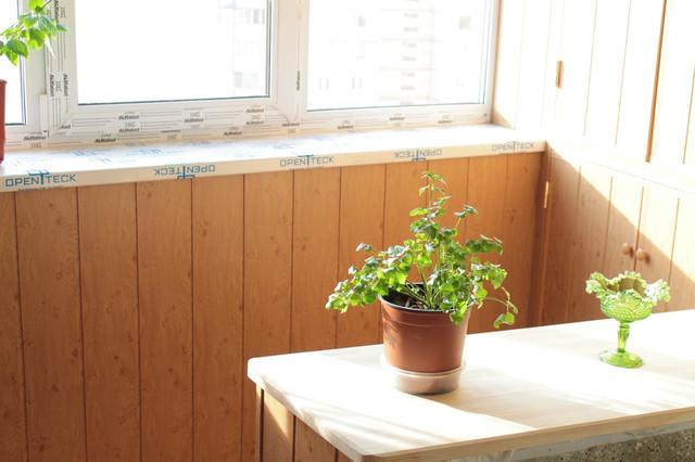 Выбираем материал для отделки балкона фото