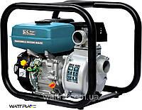 Мотопомпа бензиновая для чистой воды Könner&Söhnen KS 50 (500 л/мин) (нал/безнал)