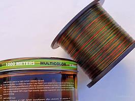 Леска 1000м 0,30 Carp Expert multicolor (оригинал)