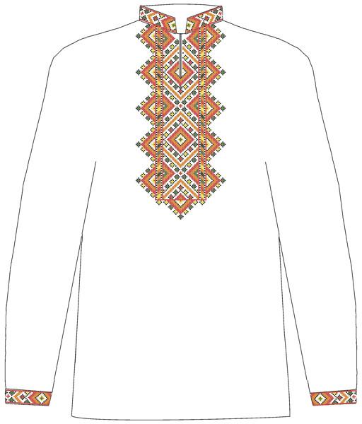 СВЮ-9. Заготовка для вишивки бісером Дитяча сорочка для хлопчика ... 9fff97527cf72