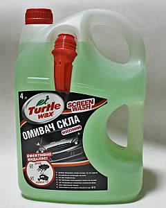 Летний омыватель стекла Turtle Wax (4л) лимон-лайм