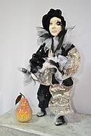 Авторская Кукла мальчик  Пьеро  - подарок любимым  женщинам   и девушкам