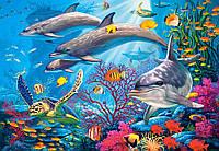 Пазл Дельфины 1000 деталей С-103515, фото 1