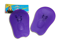 Лопатки для плавания пластиковые (тренажёр д/рук)