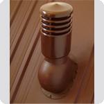 Вентиляционный выход Kronoplast KPIO для битумной черепицы утепленный ( монтаж на битумную черепицу)
