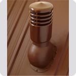Вентиляционный выход Kronoplast KPIO для битумной черепицы утепленный ( монтаж на битумную черепицу), фото 1