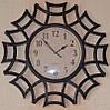 Часы на стену фигурные, бронза (40х40х4 см.)