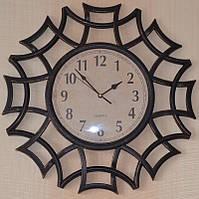 Часы на стену фигурные, бронза (40х40х4 см.), фото 1