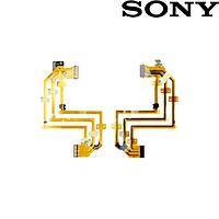 Шлейф для цифровой видеокамеры Sony DCR-SR200/DCR-SR300, для дисплея (оригинал)