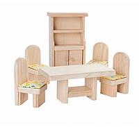 Мебель для кукольного домика Plan Тoys - Столовая классическая