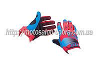 "Перчатки   ""FOX""   DIRTPAW   (mod:038, size:L, красно-синие)"