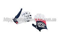 """Перчатки   """"TLD""""   (mod:030, size:M, черно-белые)"""