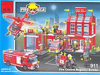 Конструктор BRICK 911 Пожарная охрана 980дет