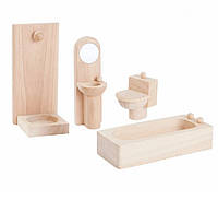 Мебель для кукольного домика Plan Тoys - Ванная классическая