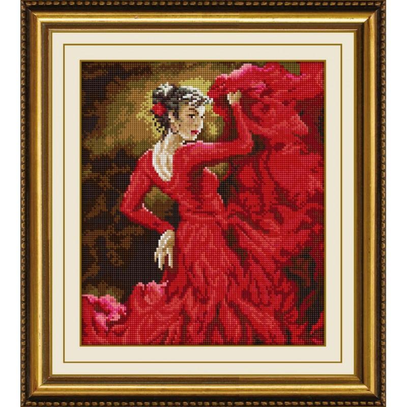 Мозаика квадратными камнями «Танец страсти» Dream Art 30211 (33 х 40 см)