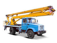 Аренда автовышки АГП-22 (локтевая автовышка - 22 метра)