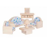 Мебель для кукольного домика Plan Тoys - Гостинная классическая