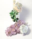 Виноград декоративный из натурального камня 8 см. Аметист (S), фото 6