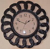 Часы на стену бронзовые (40х40х4 см.)
