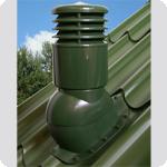 Вентиляционный выход Kronoplast KBWO для металлочерепицы профиль волна до 35 мм утепленный Ø110мм