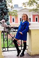 Изумительное осеннее пальто из кашемира для девочки