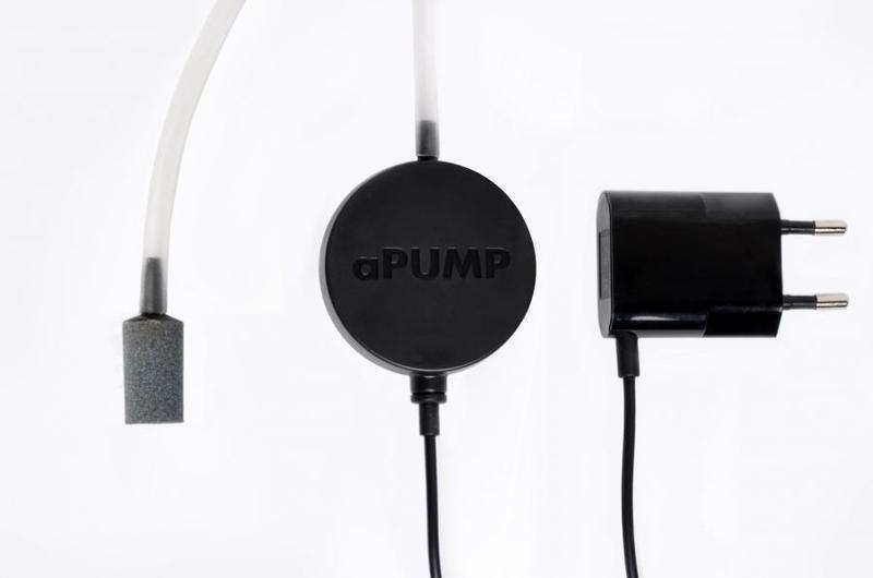 Бесшумный аквариумный компрессор aPUMP для аквариумов до 100 л