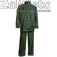 Костюм-дощовик ПВХ+нейлон (зелений)