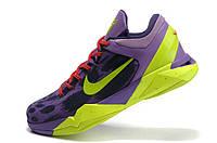 Баскетбольные кроссовки Nike Kobe 7 violet-green