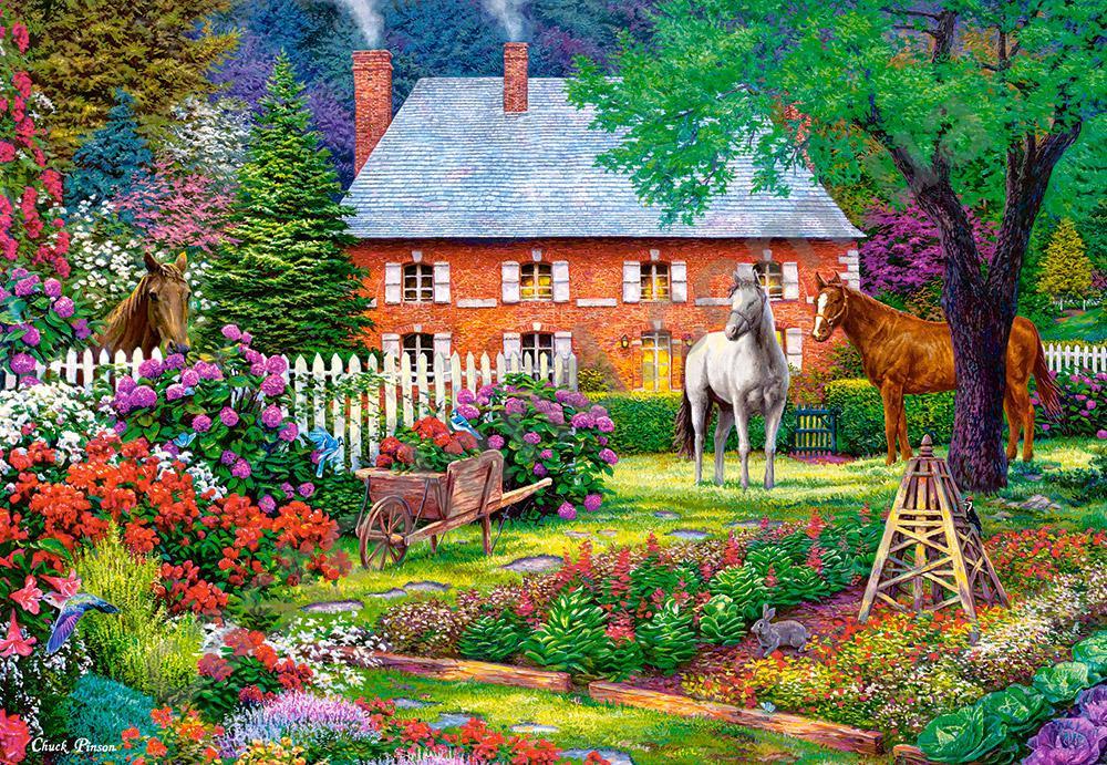 Пазлы Чудесный сад, 1500 элементов Castorland С-151523