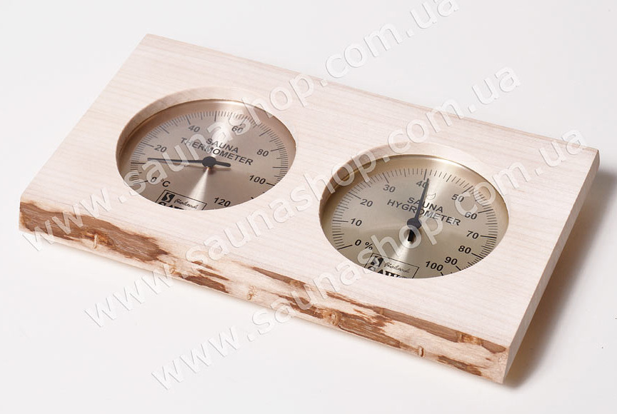 Термогигрометр для бани Sawo 221-THNА, осина