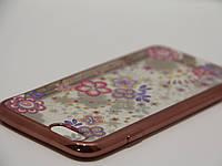 Чехол для iPhone 6/6S силикон гламур 1 , фото 1