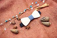Галстуки-бабочки деревянные