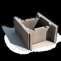 Блок фундаментный бетонный ( несъёмная опалубка)