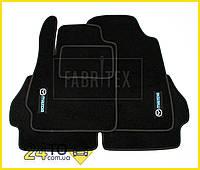 Ворсовые коврики Mazda 2, Полный комплект, (хорошее качество), Мазда 2