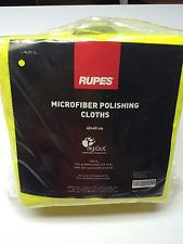RUPES 9.BF9022 Микрофибровая ветошь  желтая