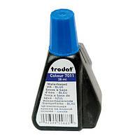 Краска штемпельная TRODAT 7011 синяя 28 мл.