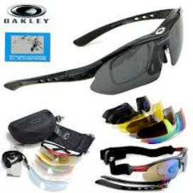 Тактические очки Oakley Black, 5 линз. - Интернет магазин Охотник в Запорожье