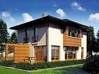 проект двухэтажного дома Hd53