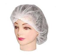 Одноразовая шапочка (гармошка) 100 шт - упаковка