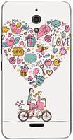 Чехол для Alcatel pixi 4.6 8050D  (Love)