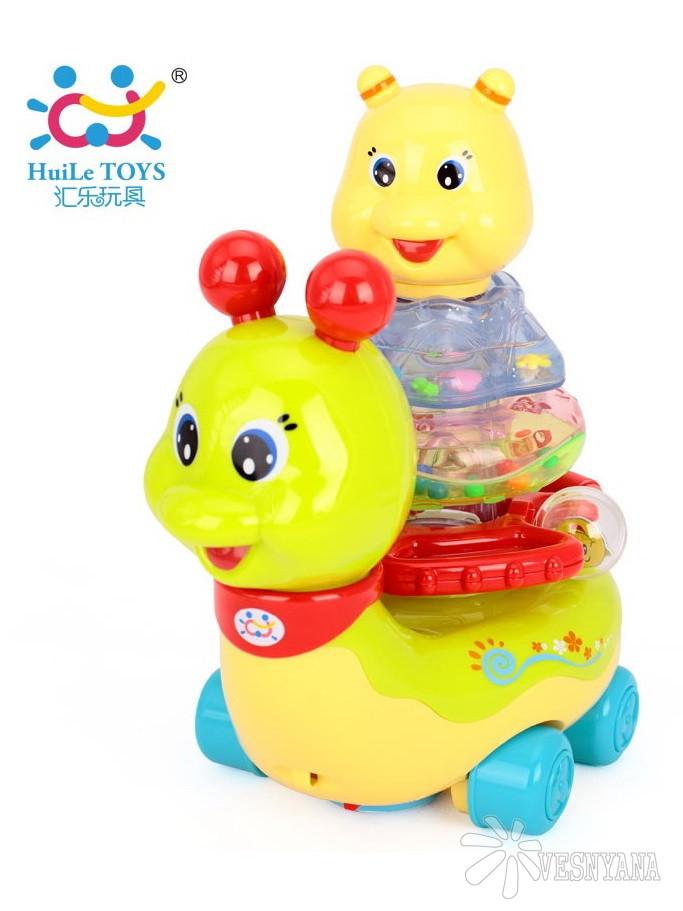 Игрушка Huile Toys Сверкающая улитка 576