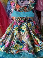 Детские нарядные праздничные платья Весна,возраст 5-6 лет S217