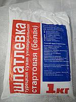 Шпаклевка стартовая гипсовая SIVA (Турция) 1 кг