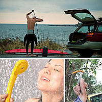Портативный автомобильный душ 5 в 1. Необходимая вещь в автомобильных путешествиях. Код: КГ602