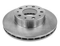 Диск тормозной передний Ducato/Boxer/Jumper 1,4-1,7t 06>14  MEYLE
